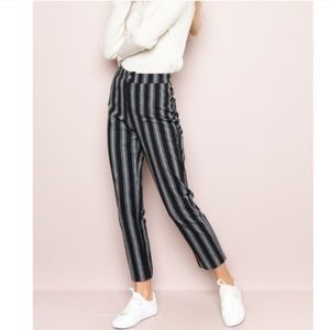 Brandy Melville Tilden pant in blue and gray